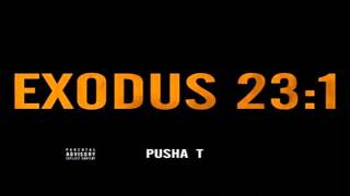 Pusha T - Exodus 23:1 Instrumental + Free mp3 download!