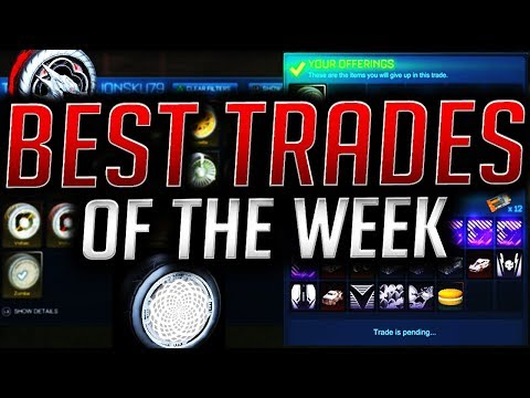 My BEST Trades of The Week! INSANE PROFIT From Trading! (Rocket League)