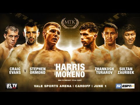 LIVE PROFESSIONAL BOXING! - MTK GLOBAL PRESENTS ... *FIGHT NIGHT CARDIFF* / EUROPEAN TITLE
