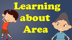 Learning about Area | #aumsum #kids #education #science #learn