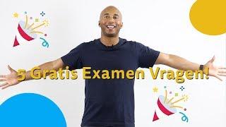 5 GRATIS Examenvragen - CBR Auto Theorie Examen - 2019