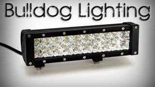 "Bulldog 10"" Light Bar Install On A New Holland Tg210"