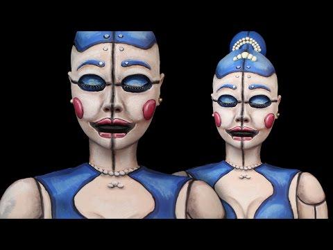Ballora FNAF Sister Location Make-Up Tutorial   Tutorial Tuesday