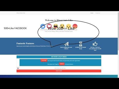 Full Download] Himzi Autolike Free 5000 Fb Auto Liker