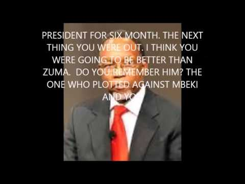 WHO IS GOING TO BE THE NEXT PRESIDENT IN SOUTH AFRICA?