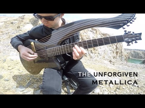 The Unforgiven - Metallica - Harp Guitar Cover - Jamie Dupuis