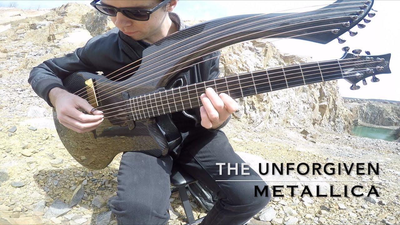 The Unforgiven Metallica Harp Guitar Cover Jamie Dupuis Chords