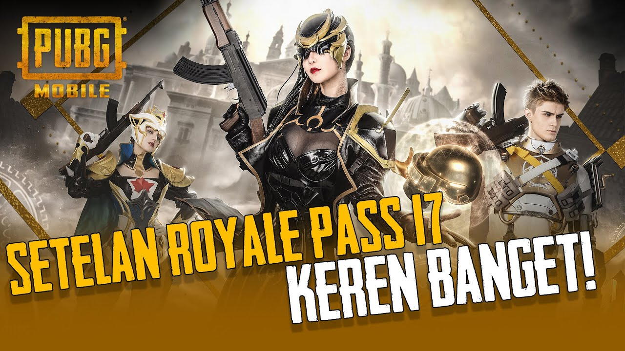PUBG MOBILE - Outfit Royale Pass Season 17 ini Keren Banget | Cosplay in Action!