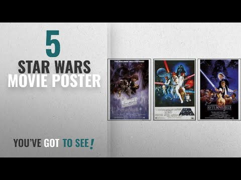 Top 10 Star Wars Movie Poster [2018]: Set Of 3 - Star Wars Original Classics Movie 24x36 Poster