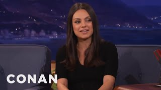 chuck norris taught mila kunis how to fight conan on tbs