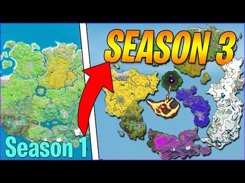 Evolution Of Entire Fortnite Island From Season 1 To Season 3 (LEAKED) - Chapter 2