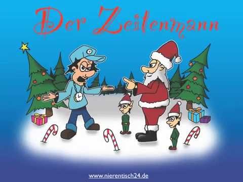 Der Zeitenmann - ein Weihnachts-Mini-Musical für die Grundschule