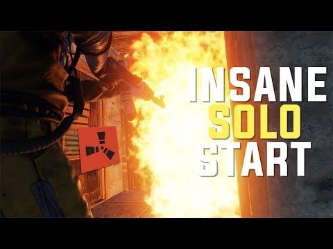 Rust - A Solo's DREAM (Solo Raiding, Counter-Raiding & PvP)