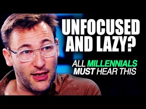 MOST INCREDIBLE SPEECH – Simon Sinek on Millennials and Laziness   SO INSPIRING!