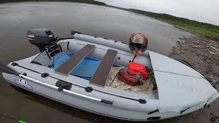 Рыбалка на лодке Выдра 430 jet