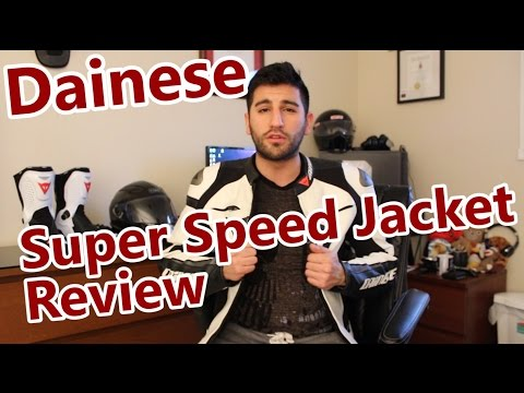 Dainese C2 Super Speed Leather Jacket