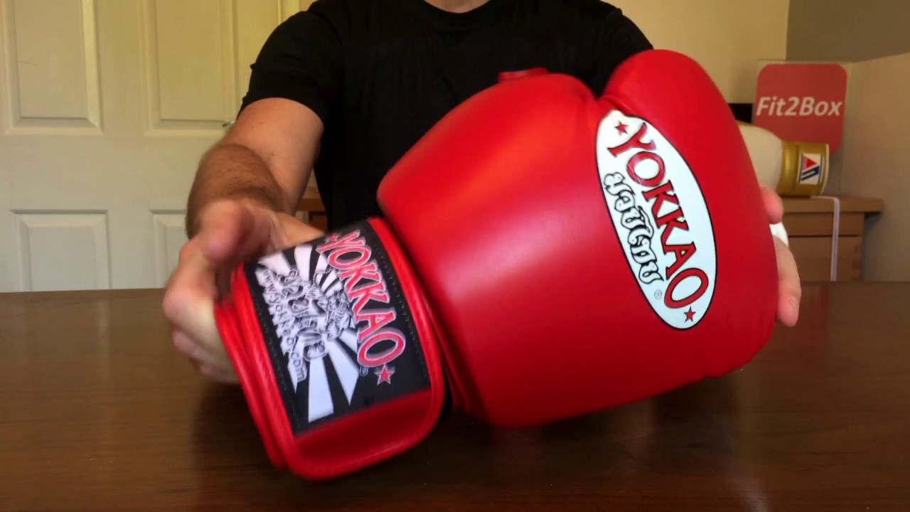 YOKKAO MUAY THAI GLOVE REVIEW-DIFFERENCES BETWEEN MUAY THAI AND BOXING  GLOVES EXPLAINED