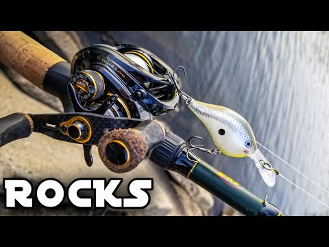 Bass Fishing On A Rocky Fishing Jetty (We Shouldn't Have Moved)