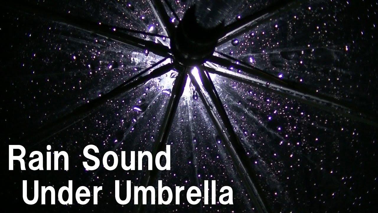 傘に当たる穏やかな雨音8時間 勉強 睡眠 作業 読書 瞑想用 気にならないホワイトノイズ/Rain sound under umbrella whitenoise 8H