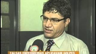 Falsas enfermeiras são presas acusadas de aplicar golpes em idosos em Uraí (12/03)