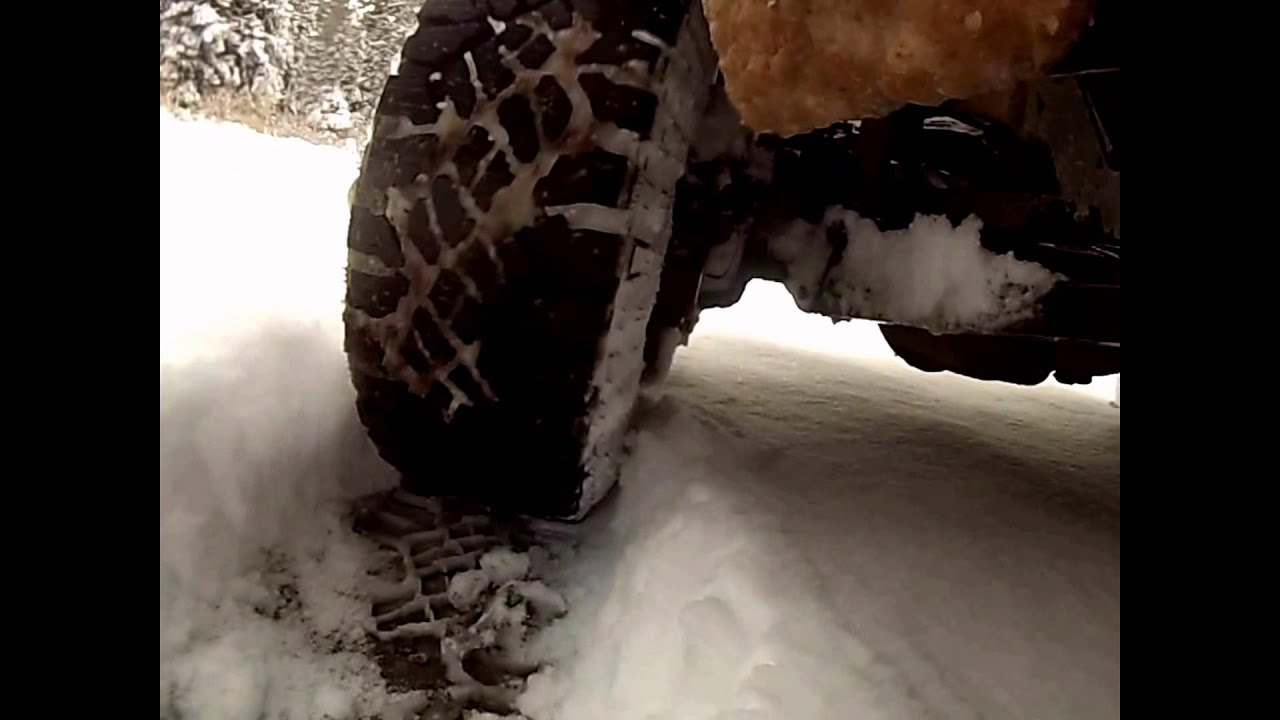 Goodyear Duratrac Wrangler Tire Review Testing 8 Of Snow In 2wd Tyers Start Stop Hill Ice Mud