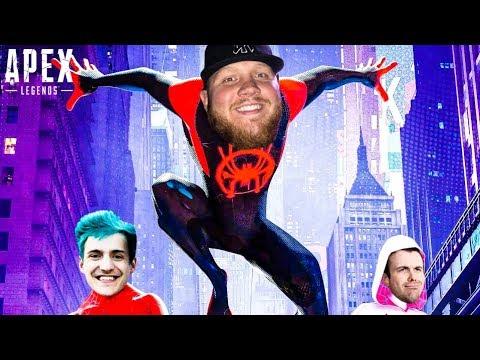 SPIDER-MAN MEETS APEX LEGENDS!! W/NINJA AND DRLUPO – Apex Legends