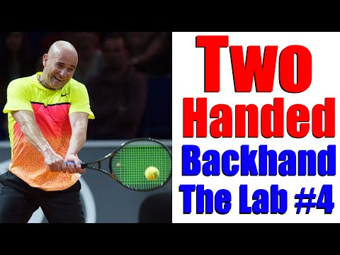 Tennis Two Handed Backhand Technique | The Lab #4