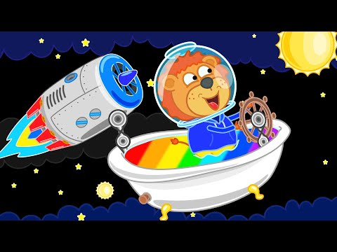 Lion Family Official Channel 🚀 Space Adventures #7. Diamond Planet | Cartoon for Kids