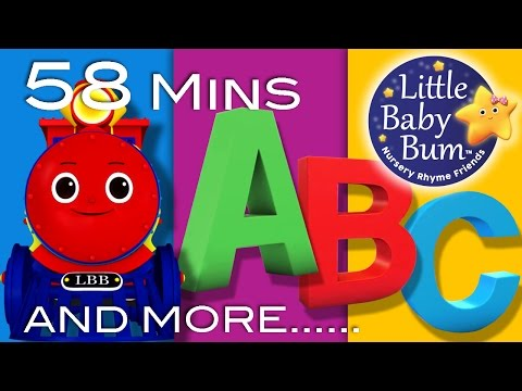 Little Baby Bum  ABC Train  Nursery Rhymes for Babies  Songs for Kids
