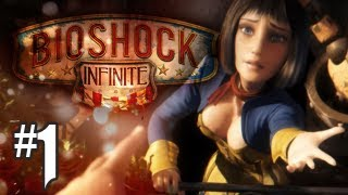 Bioshock Infinite Gameplay Walkthrough - Part 1 - Intro: Into The City (Xbox 360/PS3/PC HD)