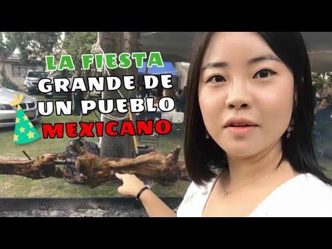 COREANA EN FIESTA DE RANCHO MEXICANO  - soojungcita coreana