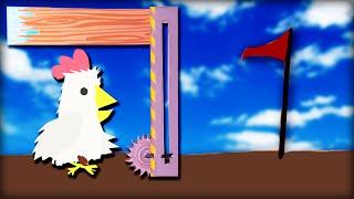 ER MACHT DAS LEVEL UNMÖGLICH ... !!! - Ultimate Chicken Horse | DannyJesden