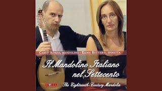 Francesco Piccone: Sinfonia per la mandola in Re minore. Minuet