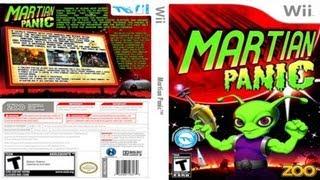 Nintendo Wii: Martian Panic - HD (720p).
