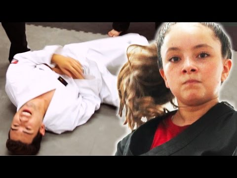 Thumbnail: Black Belt Kid Vs. White Belt Adults