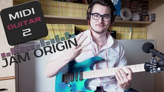 MIDI Guitar 2 by Jam Origin - 4k video!