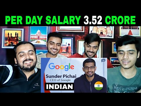 pakistani-reaction-on-|-per-day-salary-3.5-crore-|-sundar-pichai-world's-largest-company-google-ceo