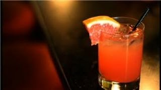 Cocktail Lounge Recipes : How To Make A Seabreeze Drink