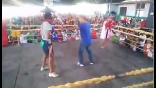 The real fight of the Century (Blindfolded Boxers)