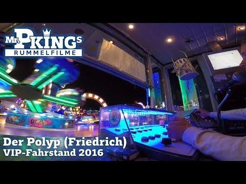 Der Polyp (Friedrich) - Offride - VIP-Fahrstand 2016