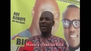 King Dr Saheed Osupa Obanla Olufimo @ BIG ABASS 45 YEARS ON STAGE