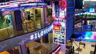 Видеоэкраны в ТЦ Горки, г.Челябинск 4. Медиафасады, видеоэкраны www.hdlt.ru +7 (495) 215-28-75