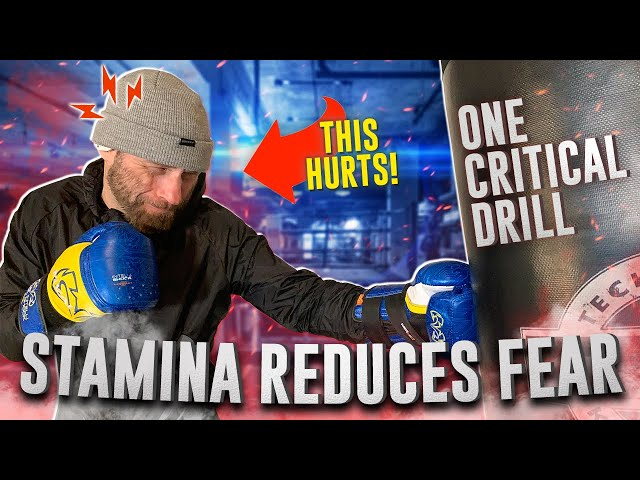 How to Develop Stamina in Boxing | Try this Killer Drill