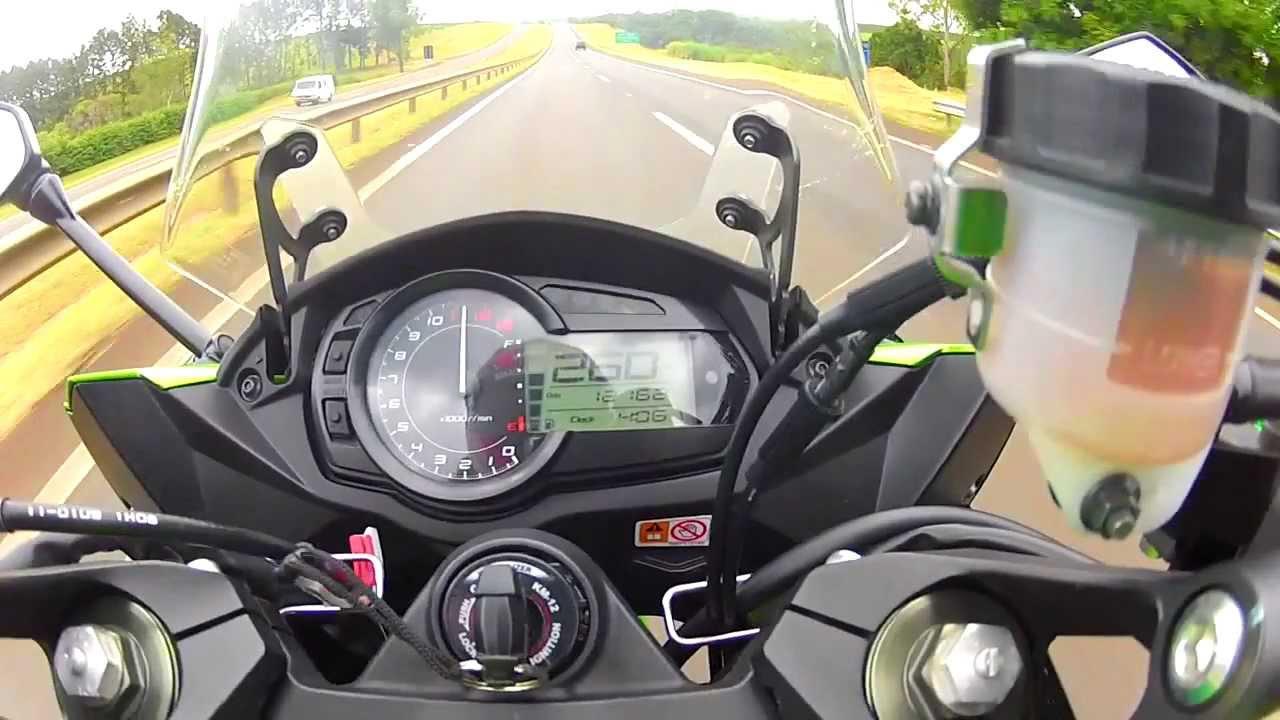 Kawasaki ninja 1000 top speed