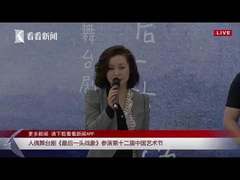 正在直播:人偶舞台剧《最后一头战象》参演第十二届中国艺术节