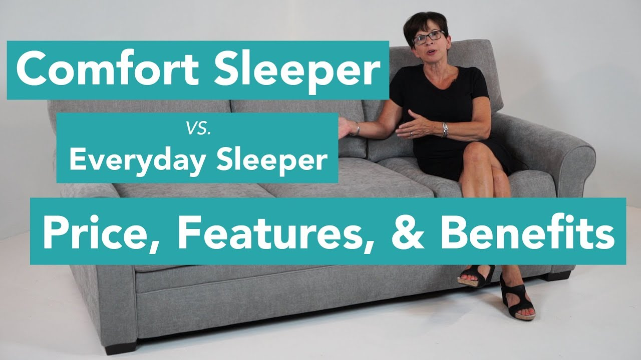 Superbe Comfort Sleeper Vs. Everyday Sleeper: Price, Features, And Benefits