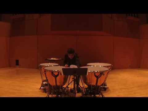 Sebastián Araya- Timpani- YOA Audición 2017