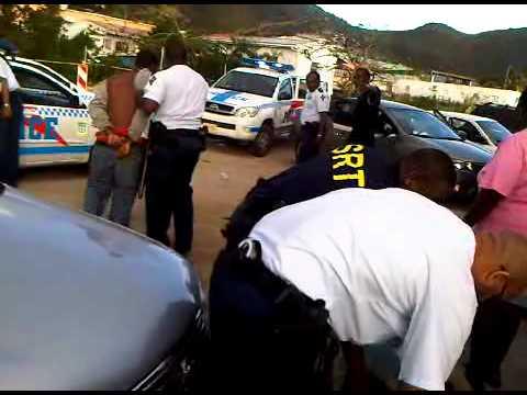 police brutality in sint maarten.