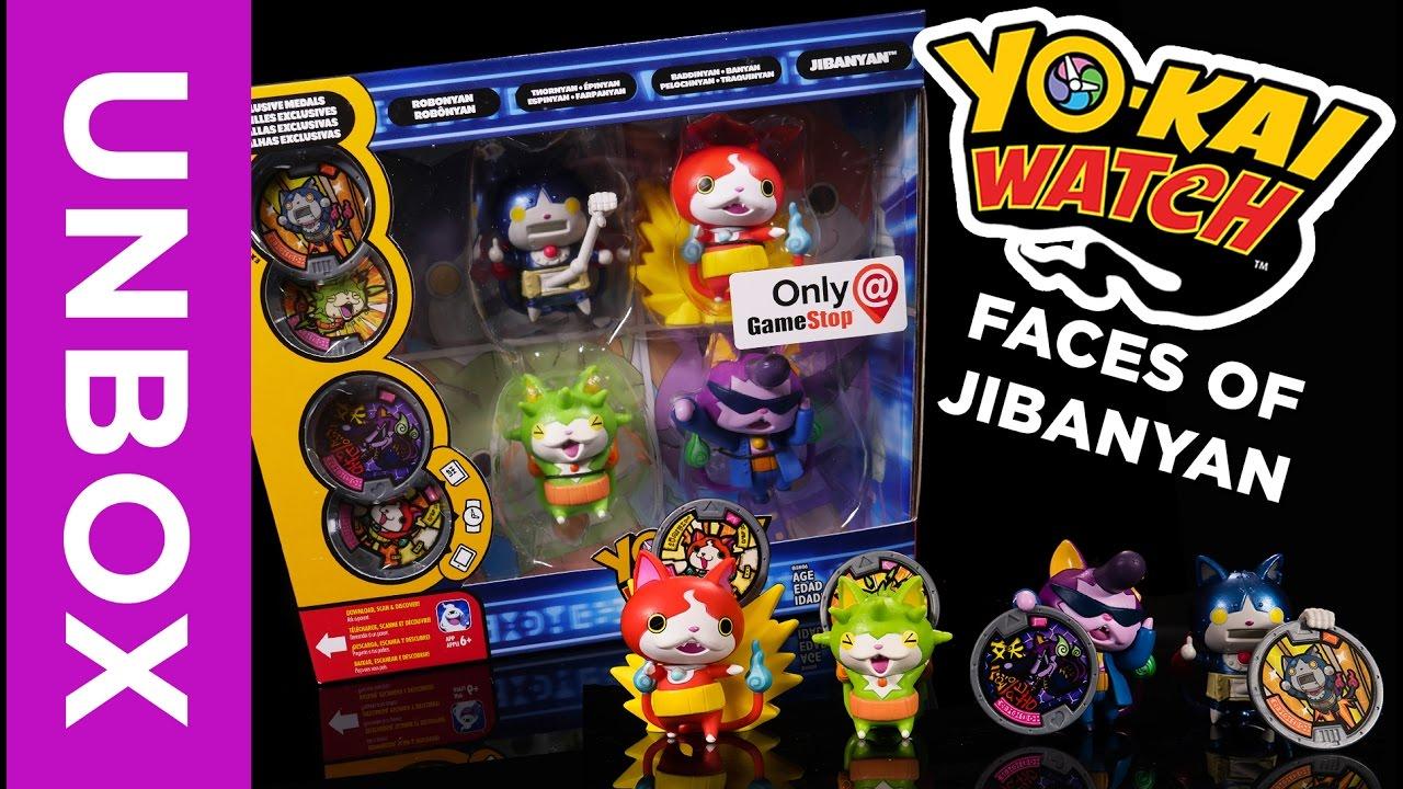 Exclusive Faces Of Jibanyan Unboxing Giveaway Yo Kai