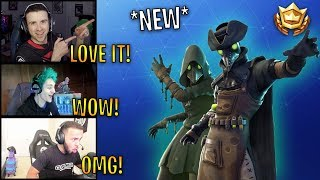 Streamers React to *NEW* Plague & Scourge Skins! | Fortnite Highlights & Funny Moments
